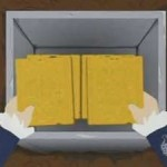 South Park translating the plates