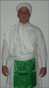 Garments for Temple Endowment Male