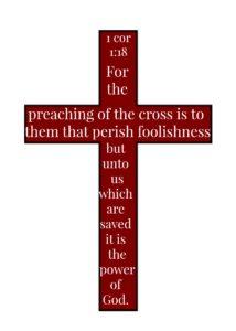 Cross 1 Cor 1 18